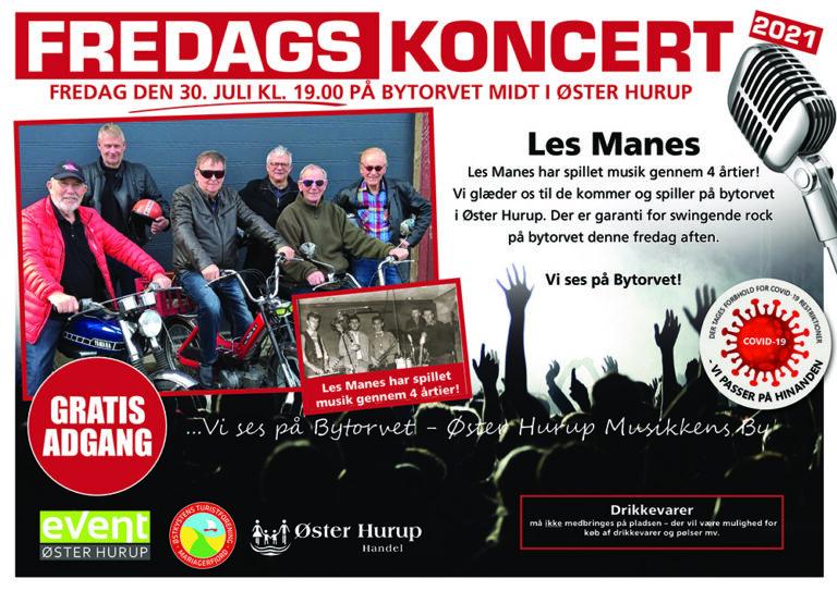 Fredagskoncert 30 juli Les Manes A3