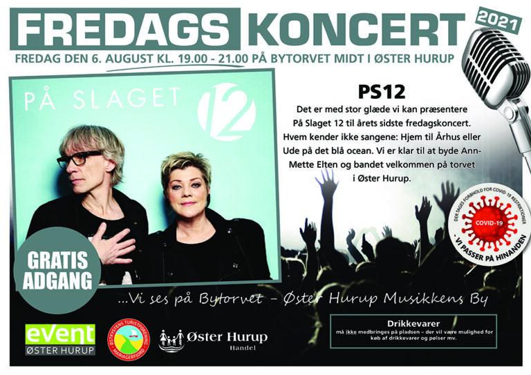 Fredagskoncert 6 august Ps12